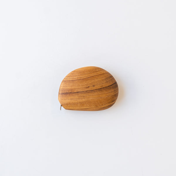 Wooden Pebble Tape Measure
