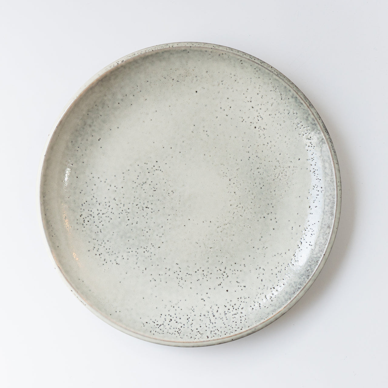 The Lake Dinner Plate Grey