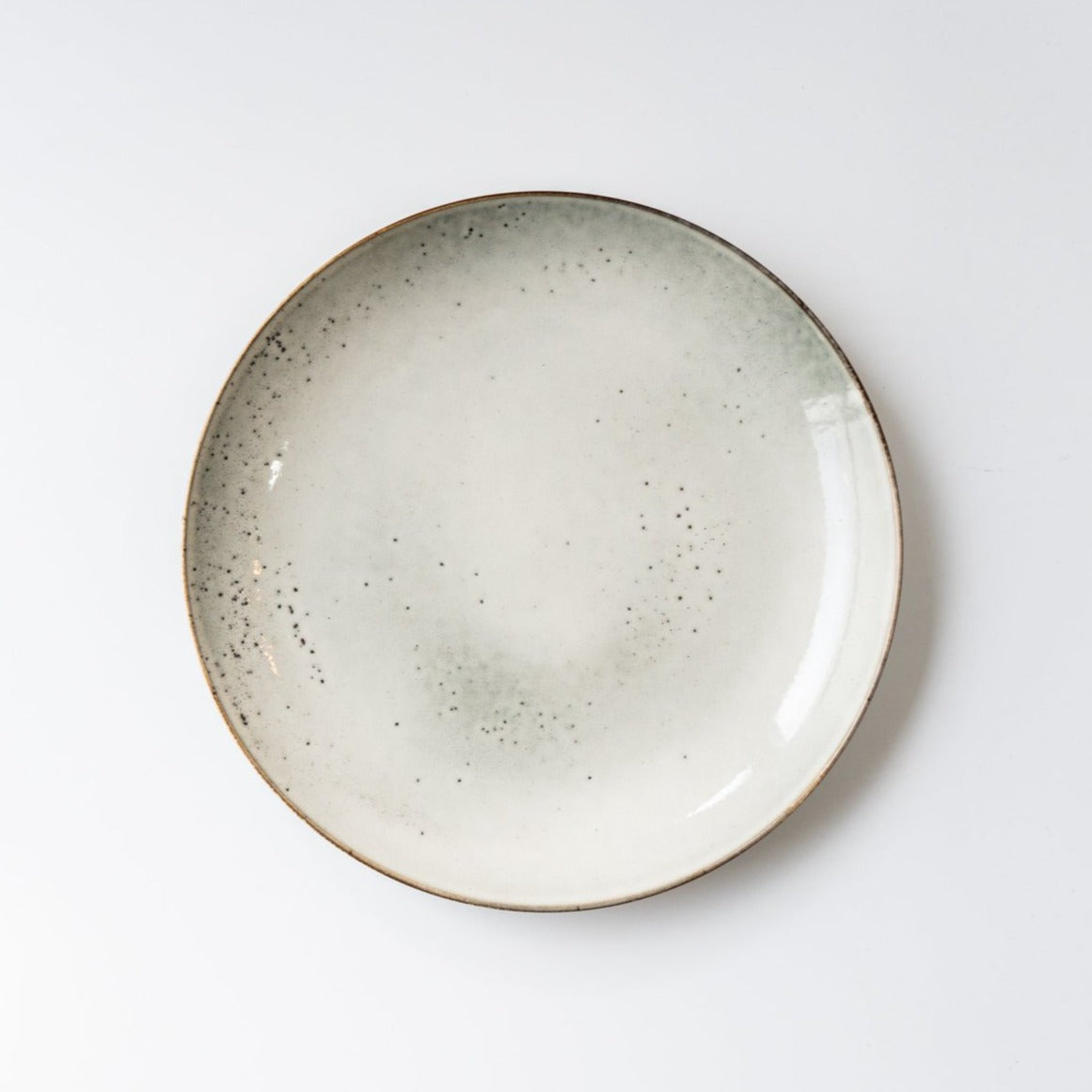 The Lake Lunch Plate Grey
