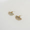 Fan Earrings in Citrine