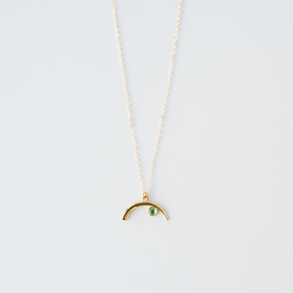 Tourmaline Cove Gold Necklace