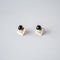 Marisol Stud Earrings Onyx