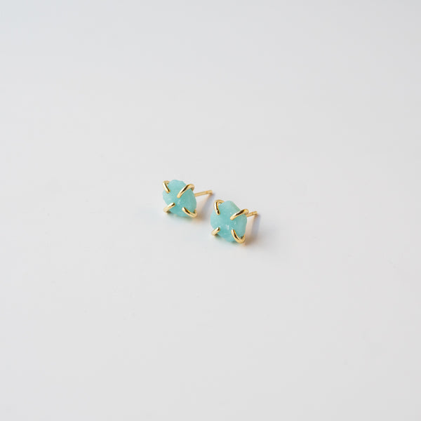 Amazonite Gemstone Prong