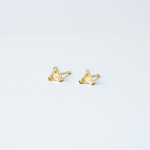 Mini Citirine Studs