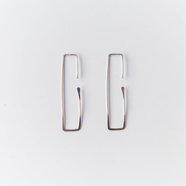 Silver Rectangle Threaders