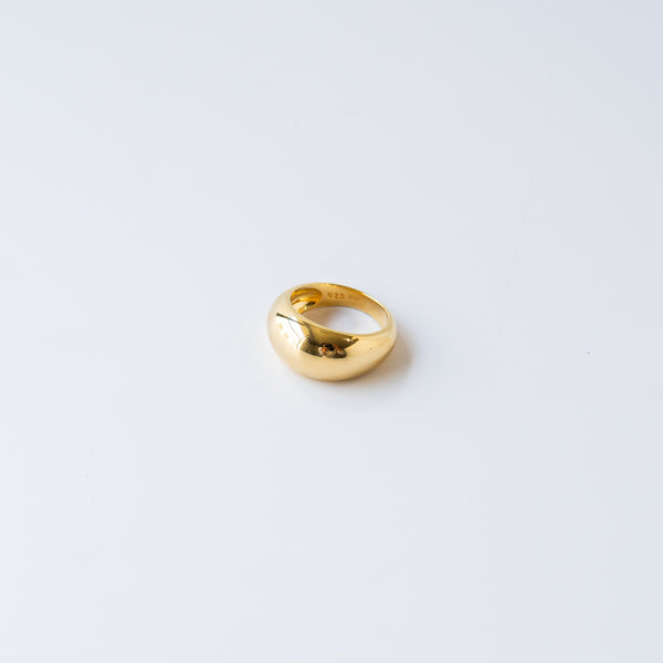 Chelsey Dome Ring Gold