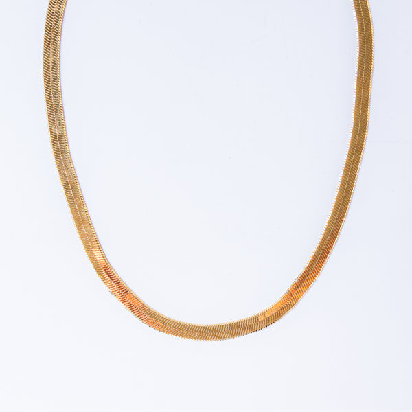 Natalia Herringbone Necklace