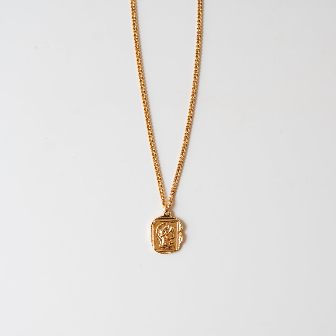 Sparta Pendant Chain 14K Gold Fill