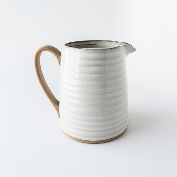 Mixed Glaze Pitcher
