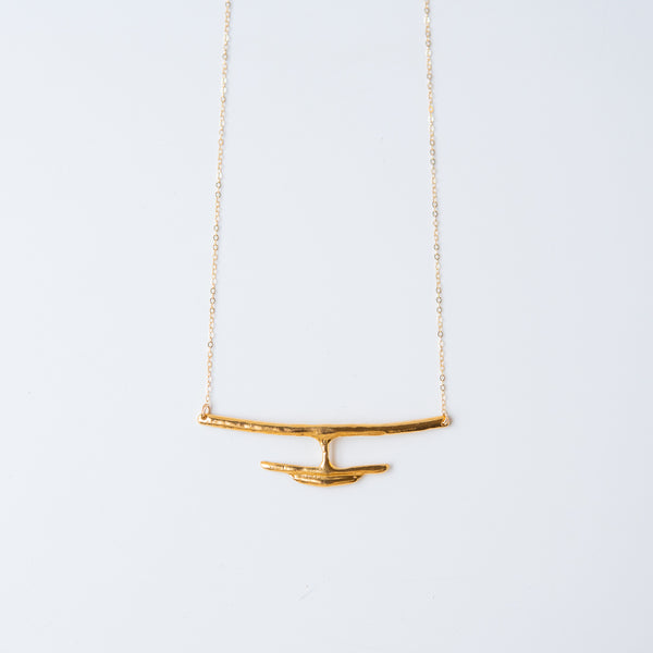Delfina Necklace Gold