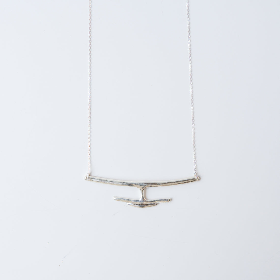 Delfina Necklace Silver