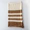 Brown & Cream Baby Blanket