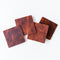 Leather Coasters Bison