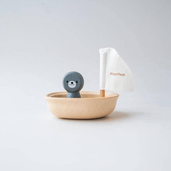 Sailing Boat Seal Toy