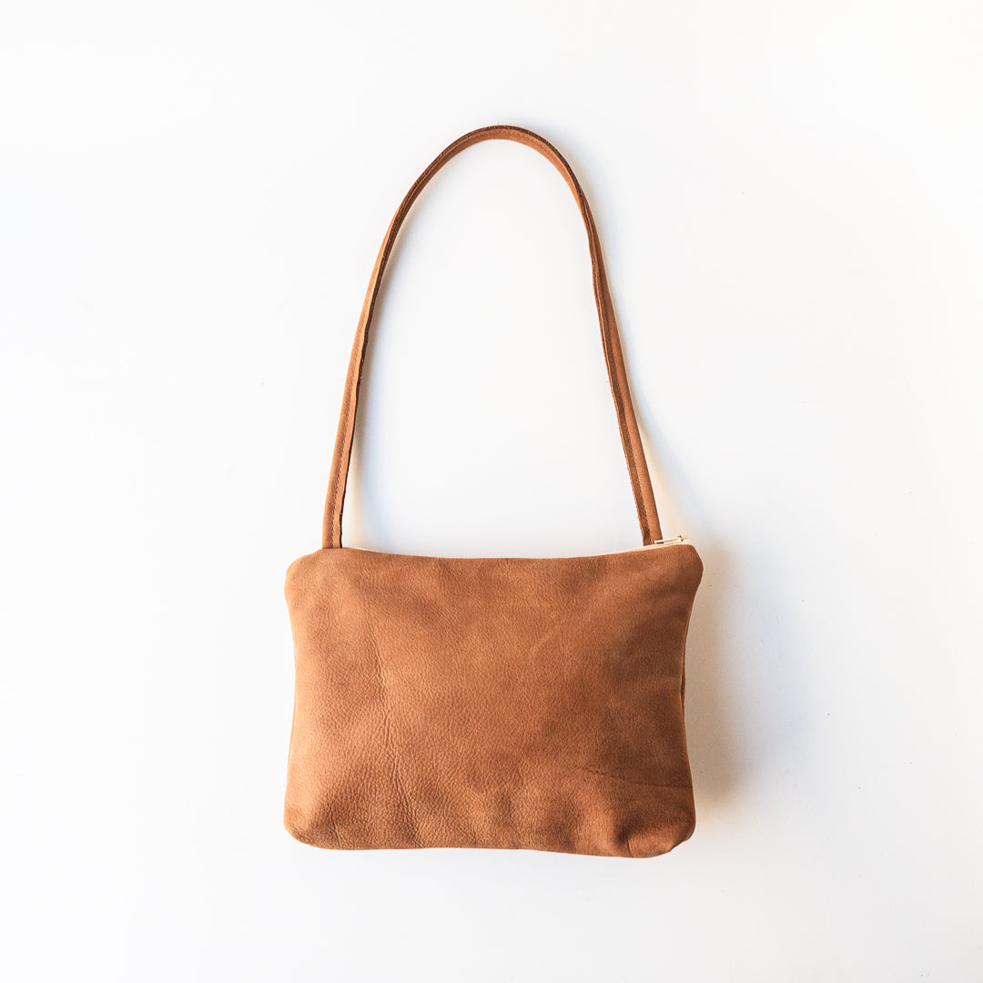 Karly Bag in Matte Tan Leather