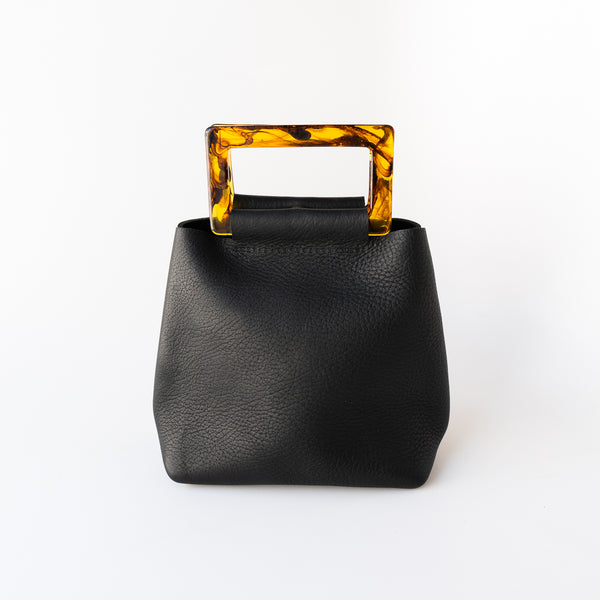 Mini Acrylic Purse in Black