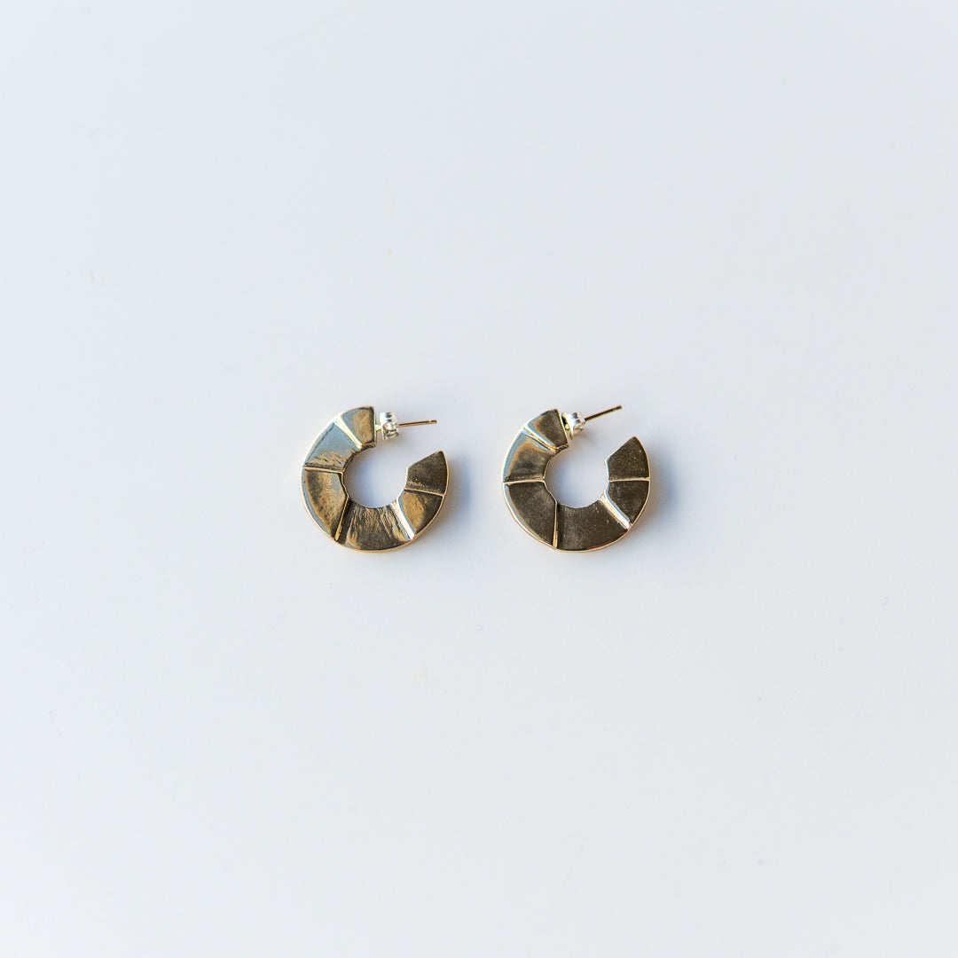 Disque Earrings