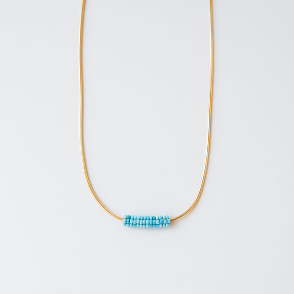 Heirloom Necklace Cove Blue