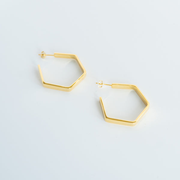 Gold Suna Hoops - Large