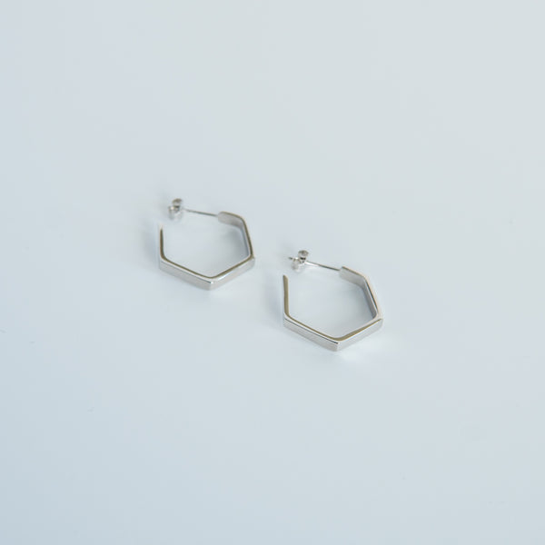 Silver Suna Hoops - Small