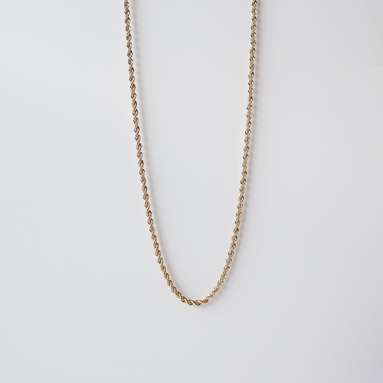 Thin French Rope Chain