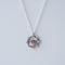 Rhinestone Star Medallion Necklace