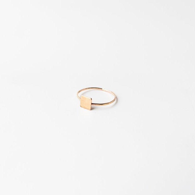 Medium Confetti Ring Gold