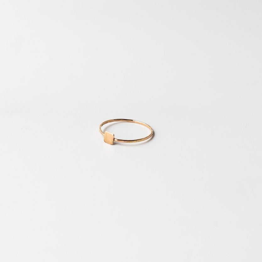 Small Confetti Ring Gold