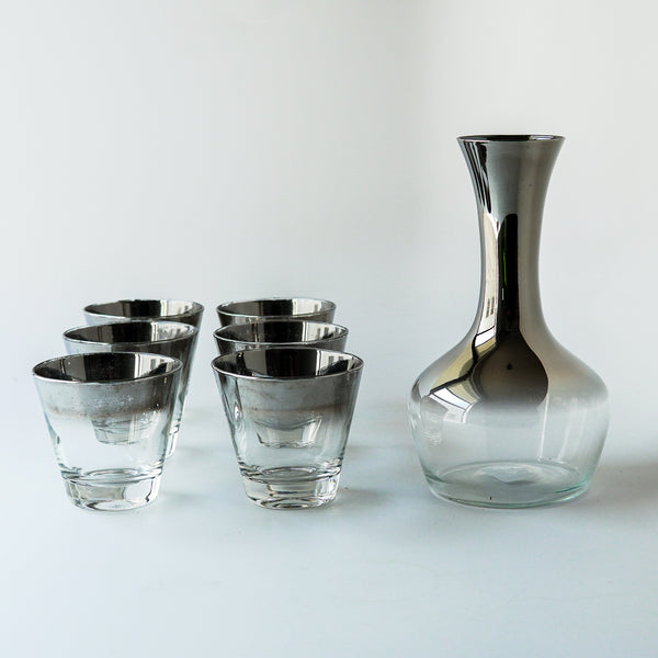 Whiskey Glasses & Decanter Set