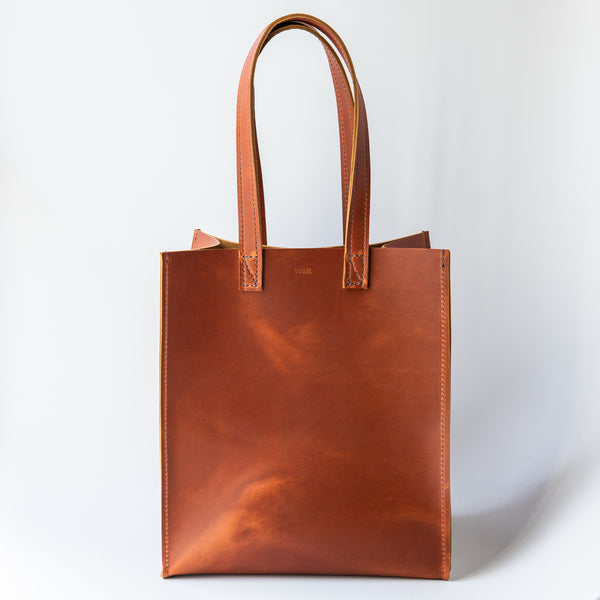 Ray Market Bag Copper Brown