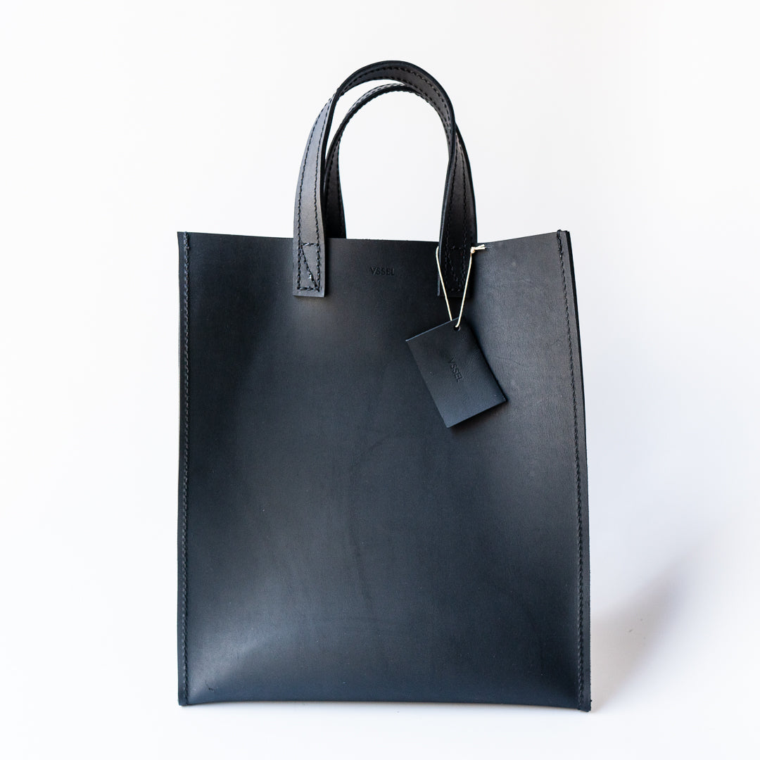 Ray Market Bag Short Handle Black