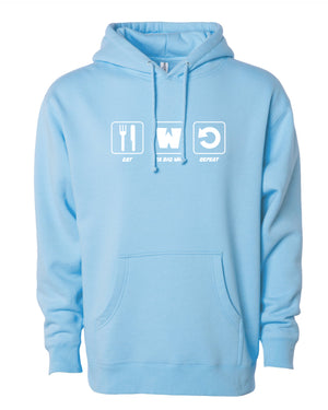 Take Big Wins Hoodie - Blue