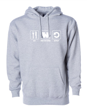 Take Big Wins Hoodie - Gray