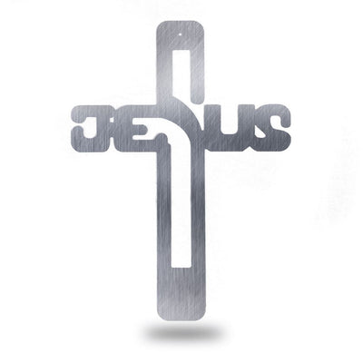 Jesus Cross - Steel Wall Sign