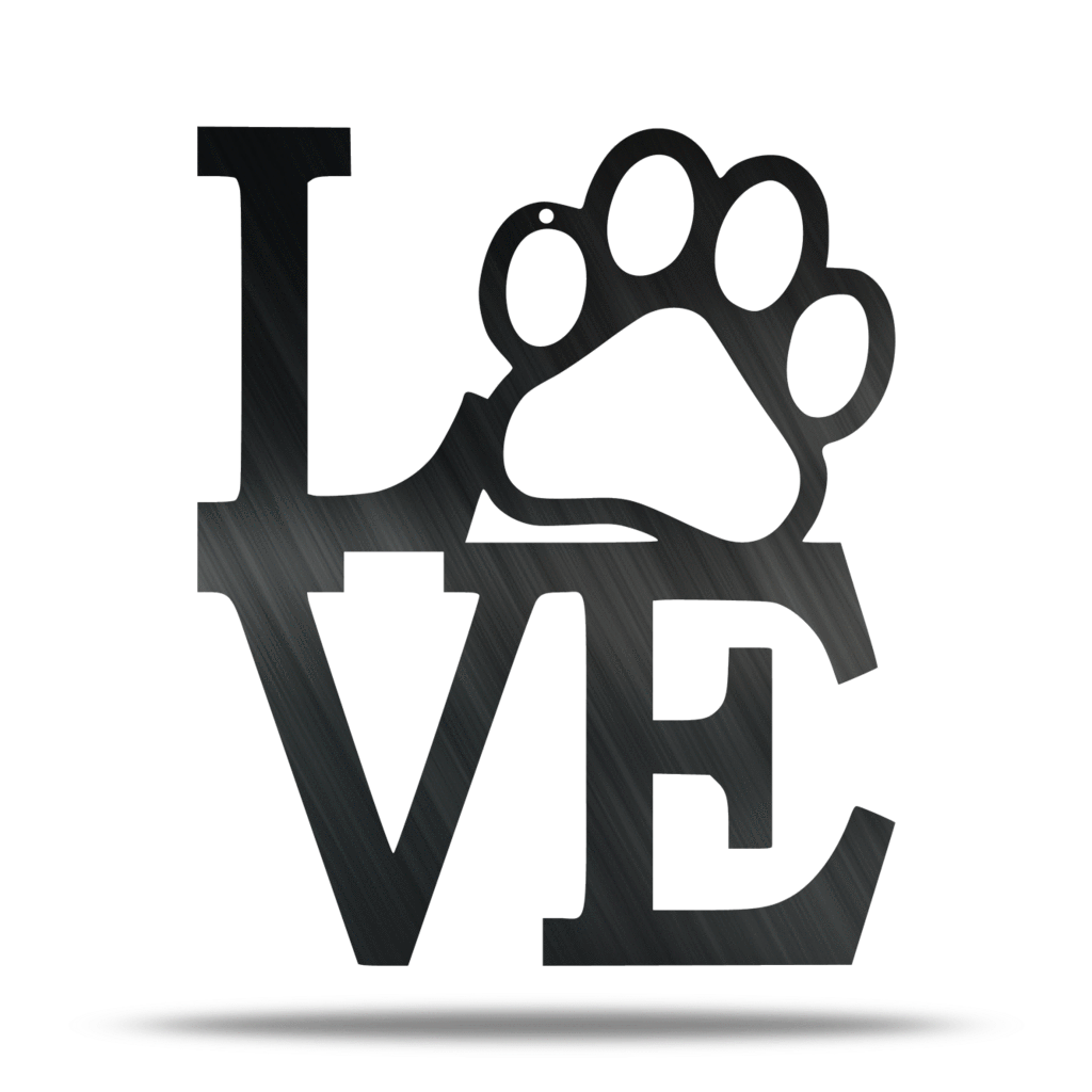 Paw Love Sign