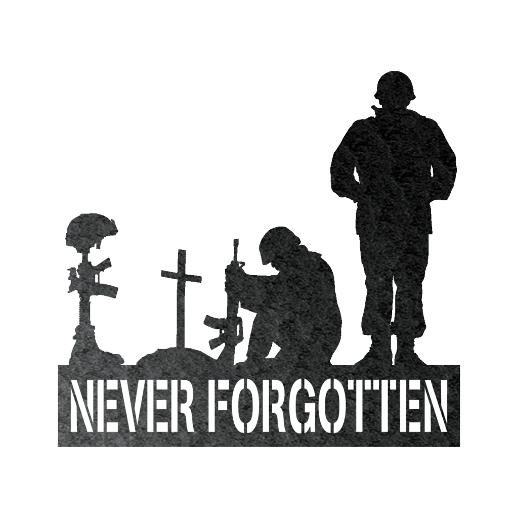 LIMITED EDITION - Never Forgotten Veterans Sign