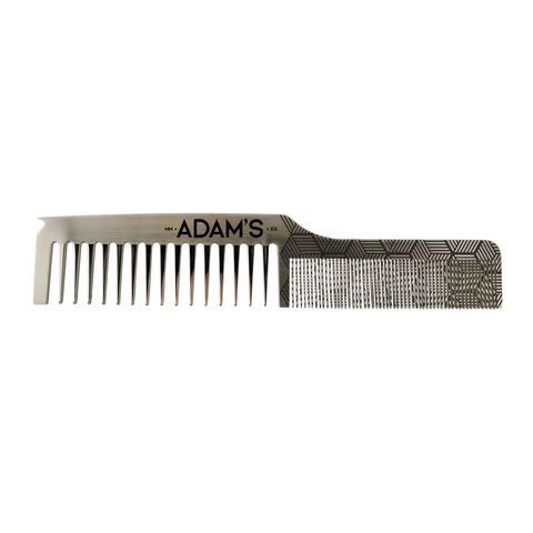 ADAM'S DUAL TOOTH STAINLESS COMB PARTING TIP
