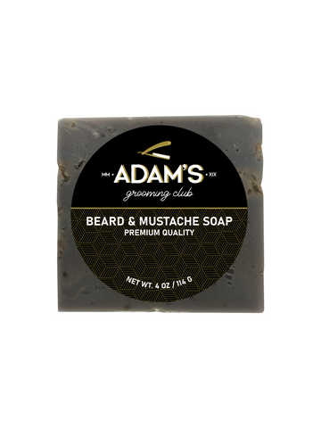ADAM'S DELUXE FACE, BEARD & MUSTACHE SOAP