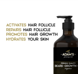 ADAM'S DELUXE BEARD GROWTH OIL (U.S.A ONLY)