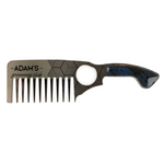 ADAM'S STAINLESS STEEL IMPERIAL BEARD COMB