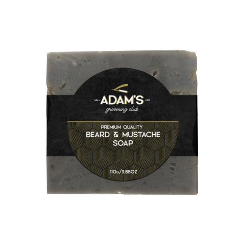 ADAM'S PREMIUM FACE, BEARD & MOUSTACHE SOAP