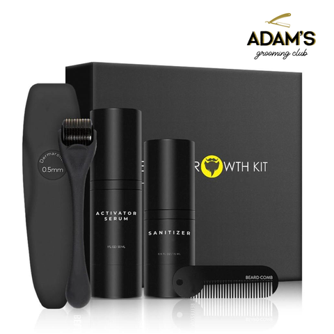 DELUXE BEARD GROWTH KIT