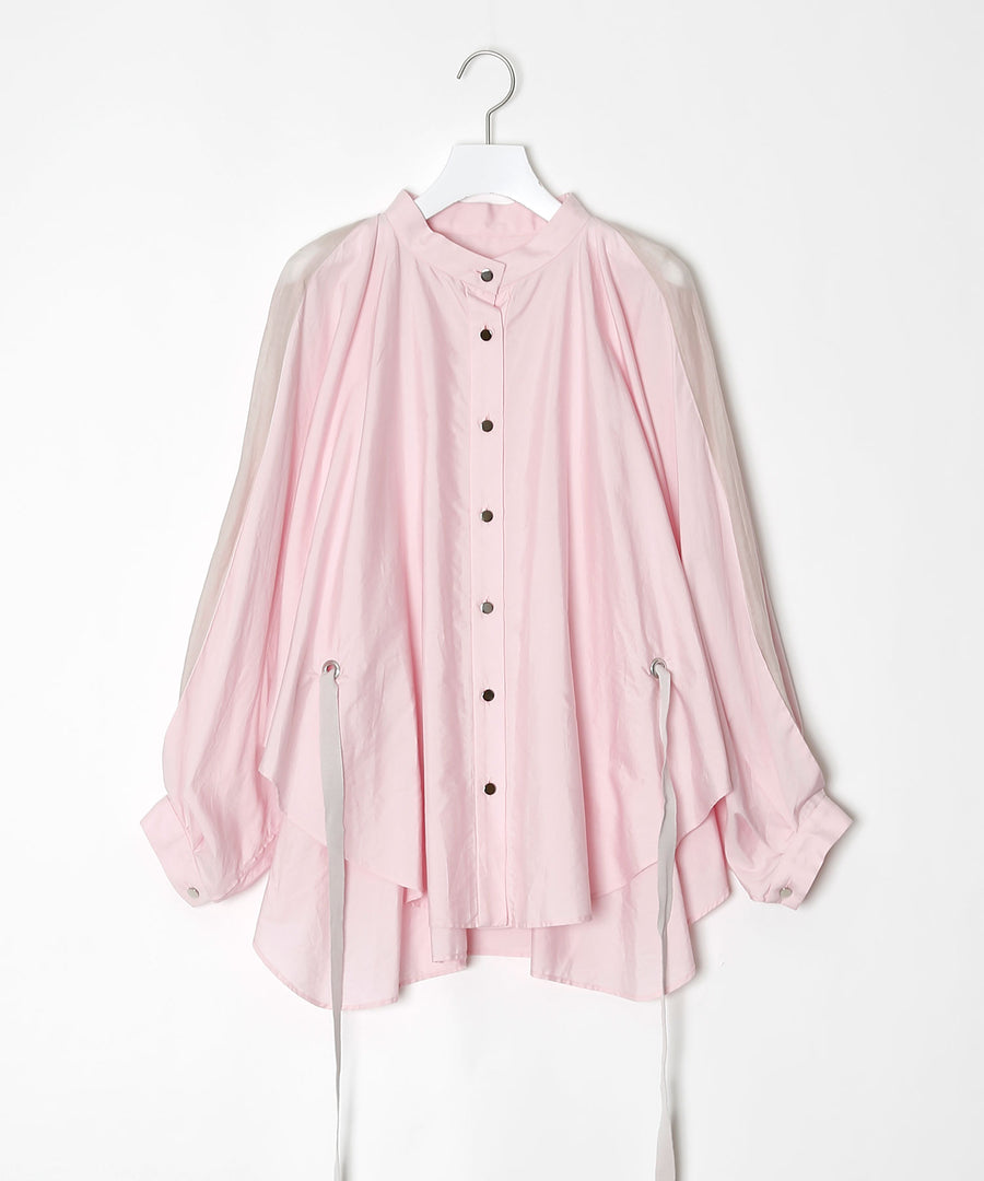 Flower cutting shirt