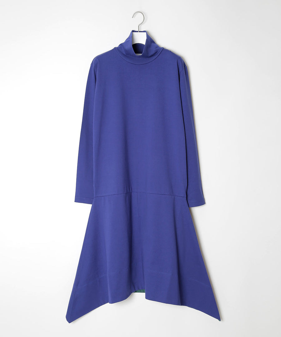 High neck flared dress[ONLINE LIMITED]