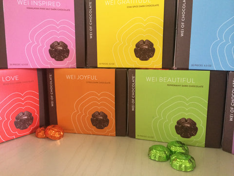 Wei Of Chocolate Launches New Packaging For Dark Chocolate Wei Of