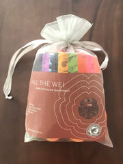 All the Wei Assortment of Dark Chocolate - 50 pc bag