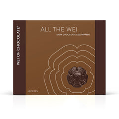 All the Wei Dark Chocolate Box Assortment