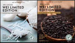 Combo of Black Sesame Salt & Coconut Salt Dark Chocolate - Limited Editions