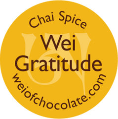 Wei Gratitude Chai Dark Chocolate - 50pc bag