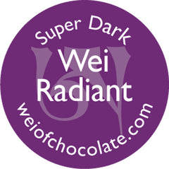 Wei Radiant Super Dark Chocolate - 50pc bag